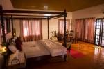 Royal bedroom is spacious