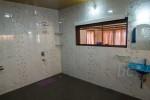 The shower & washbasin